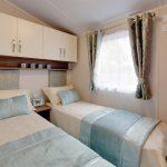 Willerby Avonmore twin bedroom